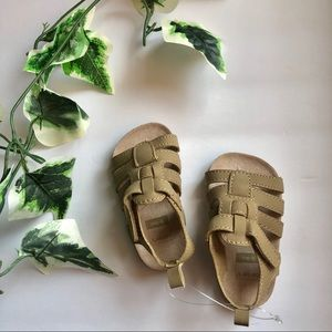 Carter's Boys Strap Brown Sandals